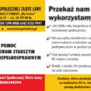 Podaruj 1% podatku Fundacji Aktywności Społecznej Złote Łany
